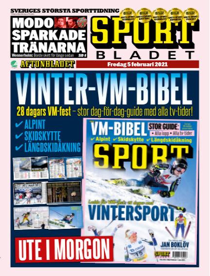 Sportbladet February 05, 2021 00:00