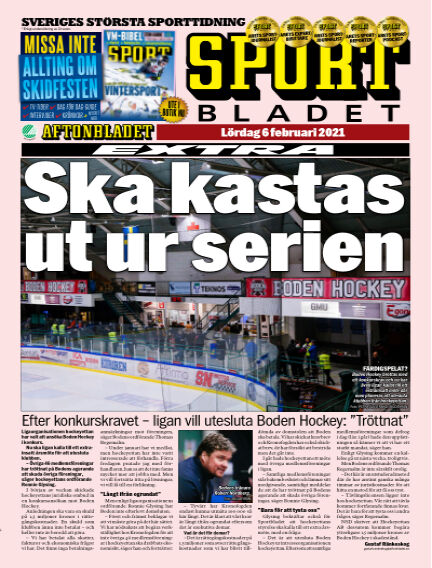 Sportbladet February 06, 2021 00:00