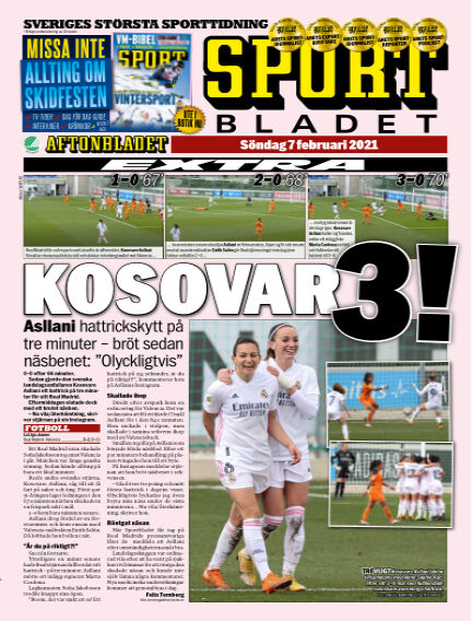 Sportbladet February 07, 2021 00:00