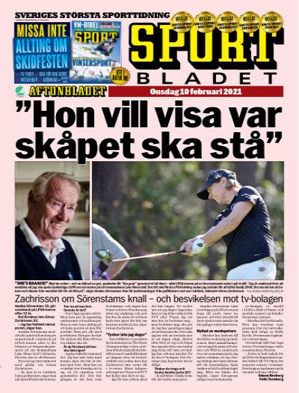 Sportbladet February 10, 2021 00:00