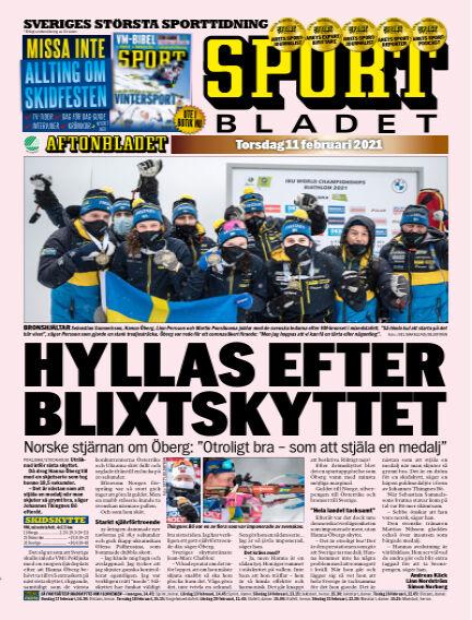 Sportbladet February 11, 2021 00:00