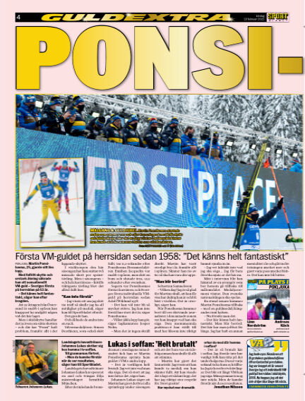 Sportbladet February 13, 2021 00:00