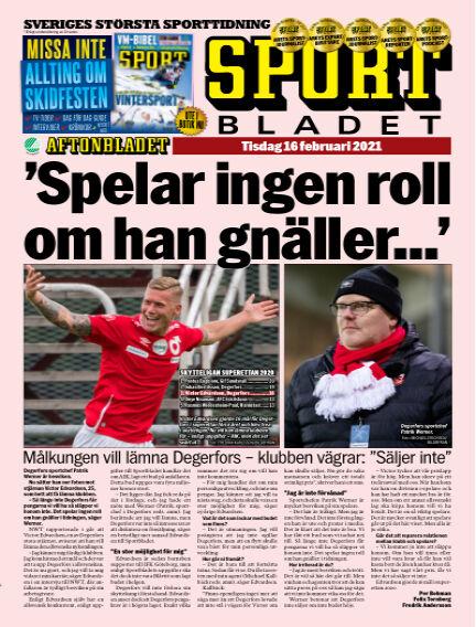 Sportbladet February 16, 2021 00:00