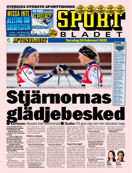 Sportbladet February 18, 2021 00:00