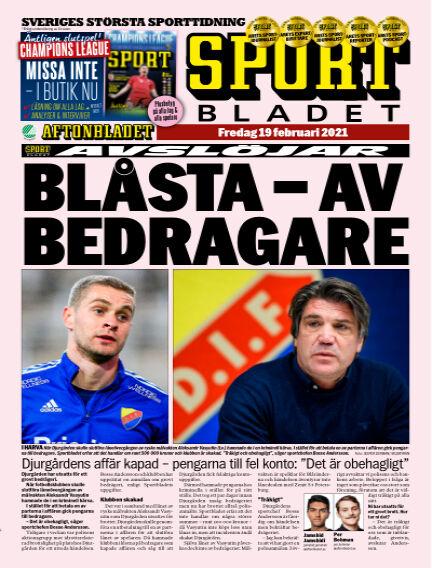 Sportbladet February 19, 2021 00:00