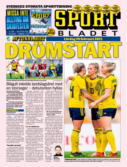 Sportbladet February 20, 2021 00:00