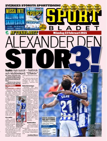 Sportbladet February 22, 2021 00:00