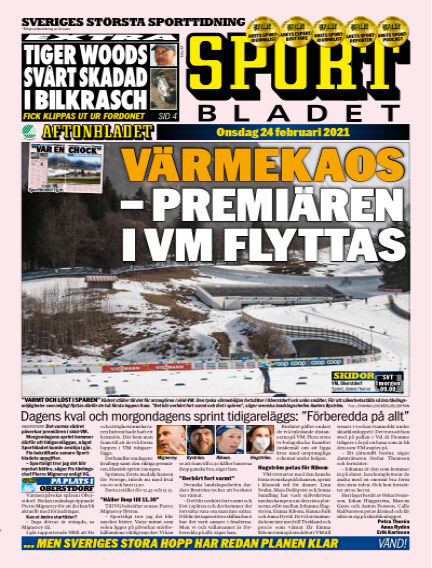 Sportbladet February 24, 2021 00:00