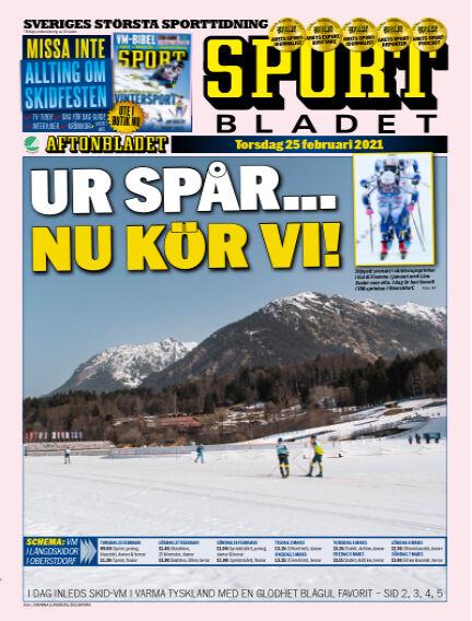 Sportbladet February 25, 2021 00:00