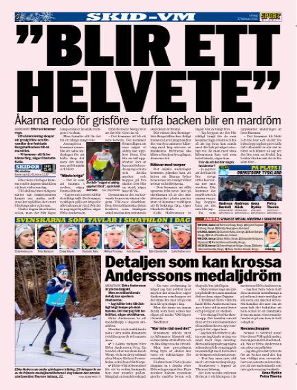 Sportbladet February 27, 2021 00:00