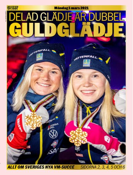 Sportbladet March 01, 2021 00:00