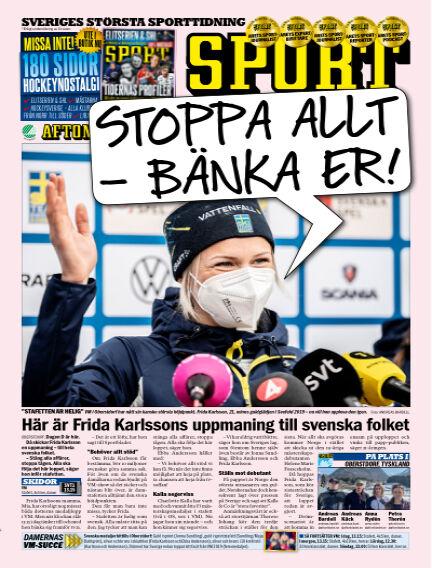 Sportbladet March 04, 2021 00:00