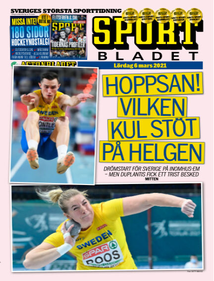 Sportbladet March 06, 2021 00:00