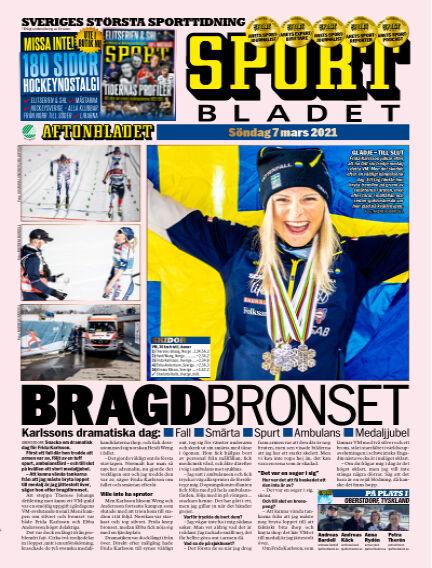 Sportbladet March 07, 2021 00:00