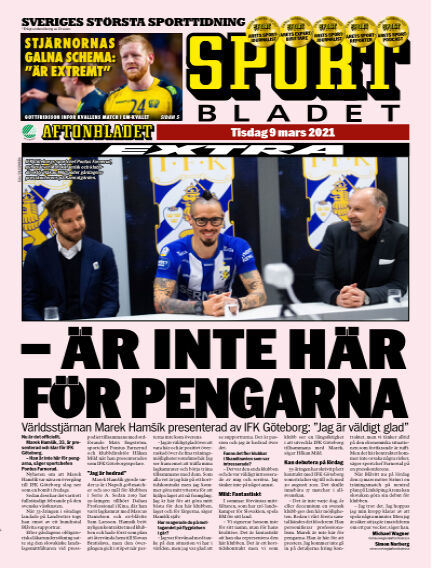 Sportbladet March 09, 2021 00:00