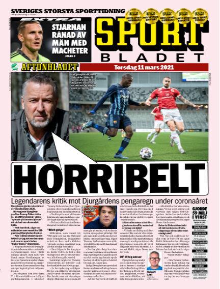 Sportbladet March 11, 2021 00:00
