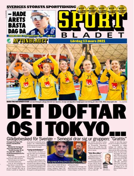 Sportbladet March 13, 2021 00:00