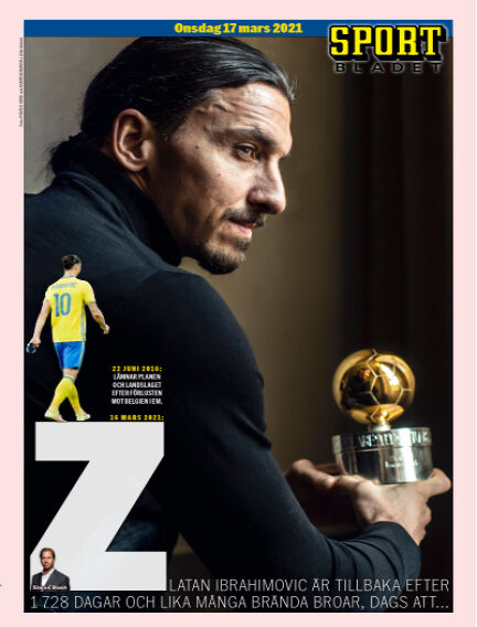 Sportbladet March 17, 2021 00:00