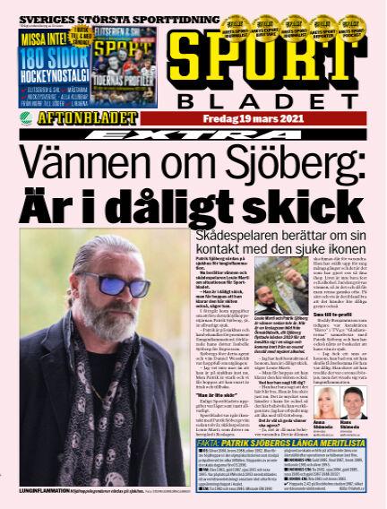 Sportbladet March 19, 2021 00:00