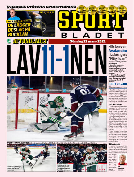Sportbladet March 21, 2021 00:00