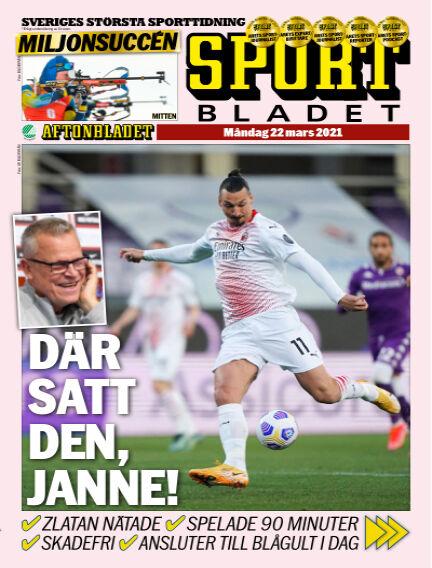 Sportbladet March 22, 2021 00:00