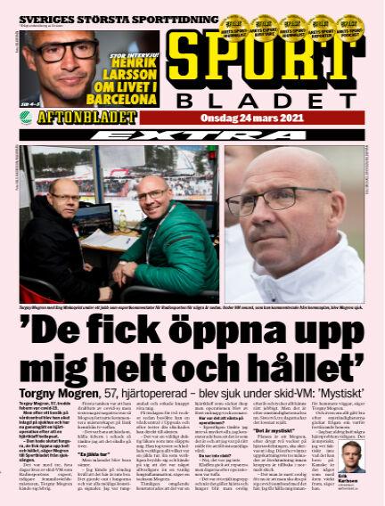 Sportbladet March 24, 2021 00:00