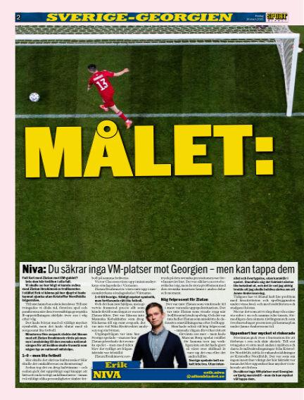 Sportbladet March 26, 2021 00:00