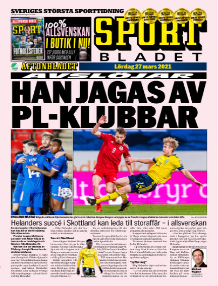 Sportbladet March 27, 2021 00:00
