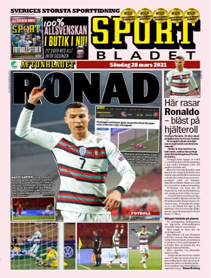 Sportbladet March 28, 2021 00:00