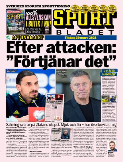Sportbladet March 30, 2021 00:00
