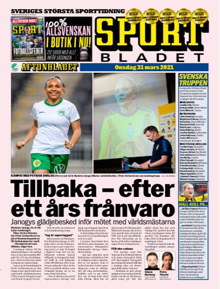 Sportbladet March 31, 2021 00:00