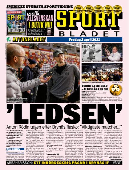 Sportbladet April 02, 2021 00:00