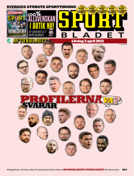 Sportbladet April 03, 2021 00:00