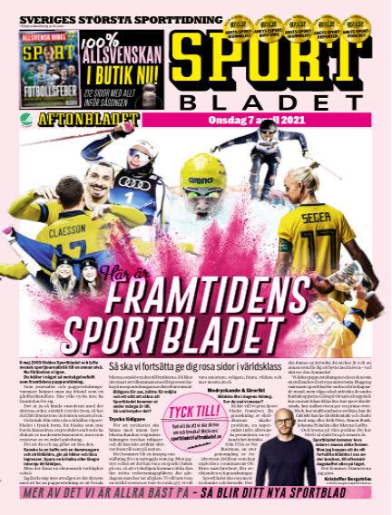 Sportbladet April 07, 2021 00:00