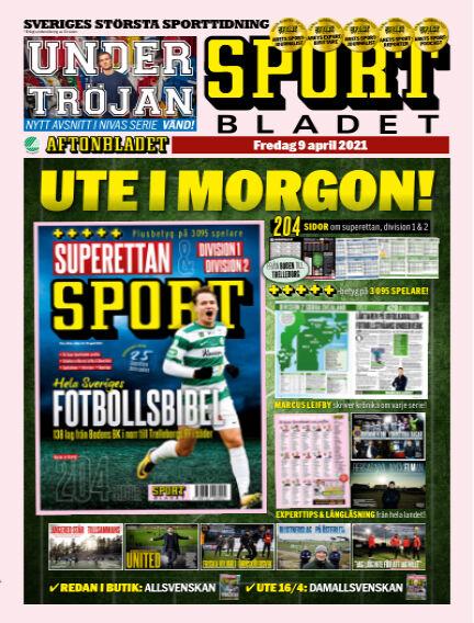 Sportbladet April 09, 2021 00:00