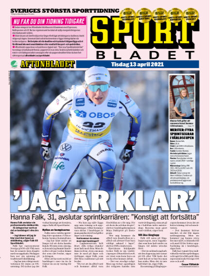 Sportbladet April 13, 2021 00:00