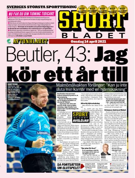 Sportbladet April 14, 2021 00:00