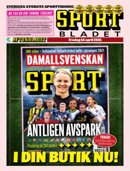 Sportbladet April 16, 2021 00:00