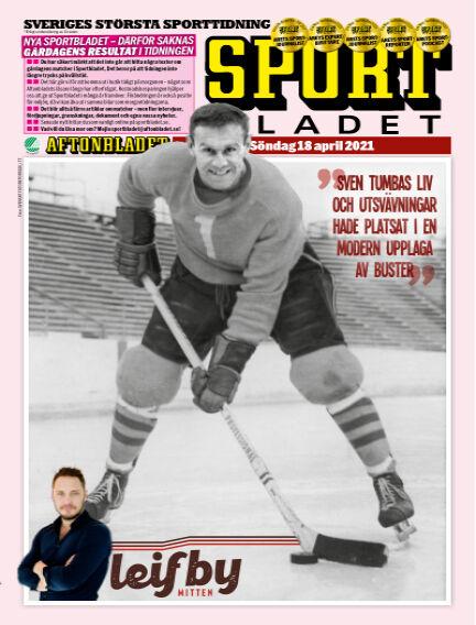 Sportbladet April 18, 2021 00:00