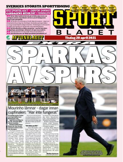 Sportbladet April 20, 2021 00:00