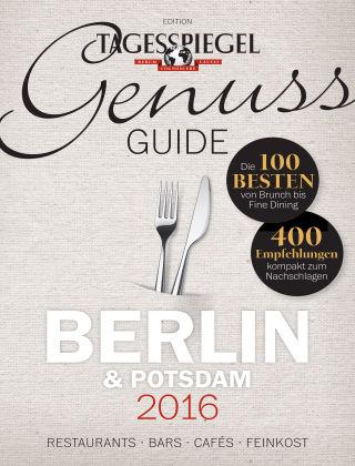 Tagesspiegel Genuss Genuss Guide 2016