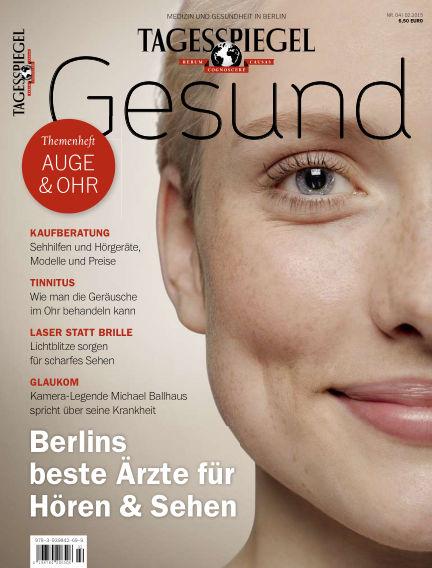 Tagesspiegel Gesundheitsratgeber February 27, 2015 00:00