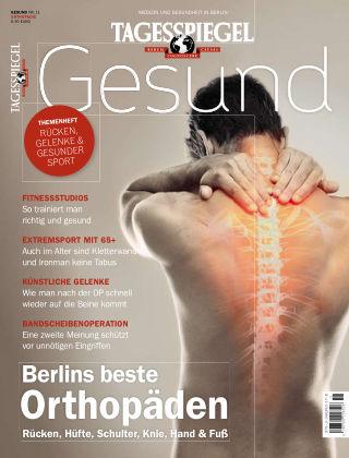 Tagesspiegel Gesundheitsratgeber Gesund Nr. 11