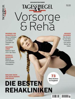 Tagesspiegel Gesundheitsratgeber Vorsorge/Reha '19/20