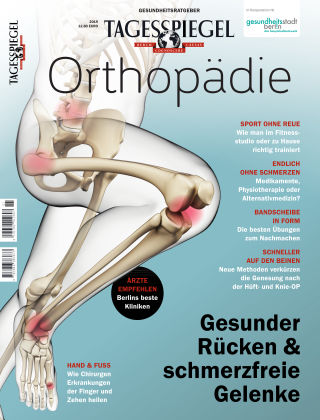 Tagesspiegel Gesundheitsratgeber Orthopädie