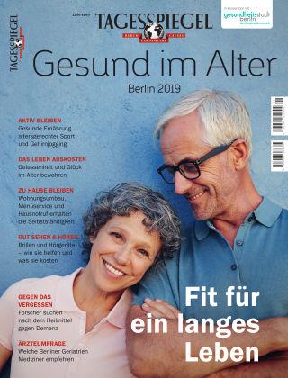 Tagesspiegel Gesundheitsratgeber Gesund im Alter