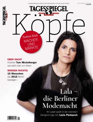 Tagesspiegel Köpfe Dez 2014/Jan 2015