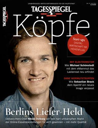 Tagesspiegel Köpfe Mai 2015