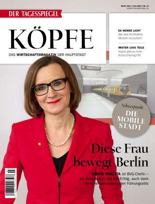 Tagesspiegel Köpfe März 2014