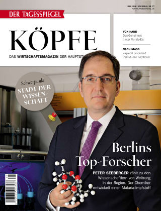 Tagesspiegel Köpfe Mai 2014